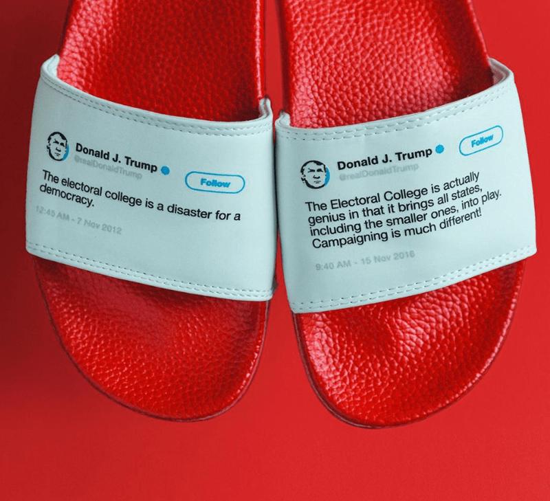 flip flops trump tweets funny - 7518725