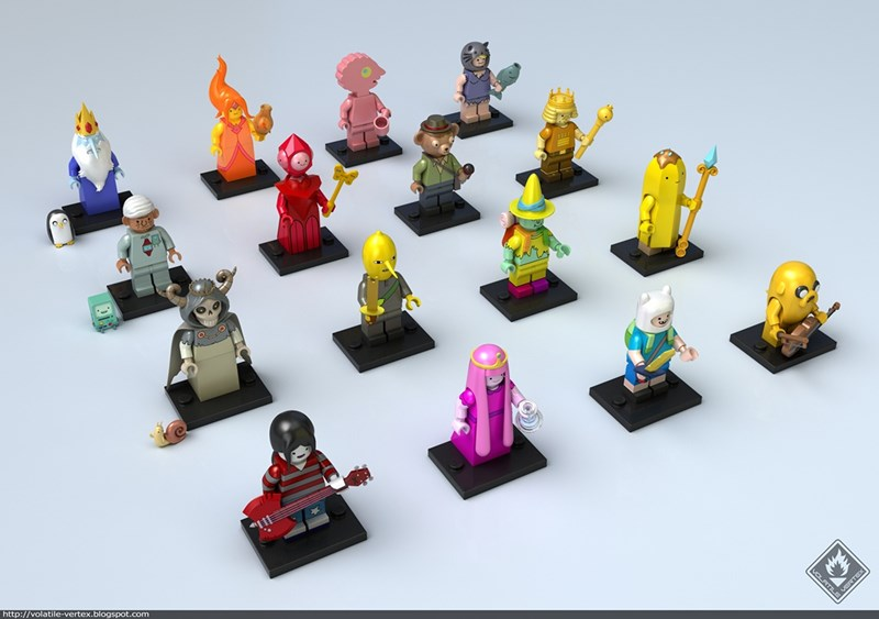 lego,list,Fan Art,adventure time