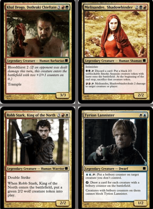 magic the gathering,Game of Thrones,Fan Art