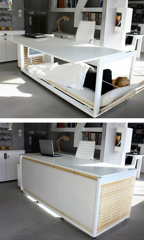 furniture bed desk deskbed funny monday thru friday g rated