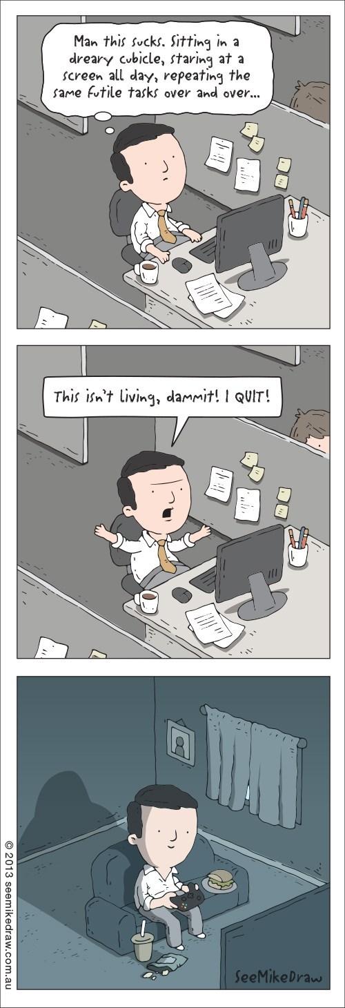 life gaming comics funny - 7519012352