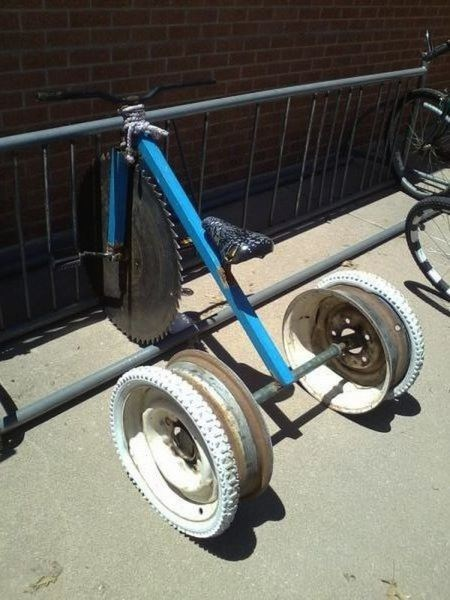 wheels funny tricycle razors g rated there I fixed it