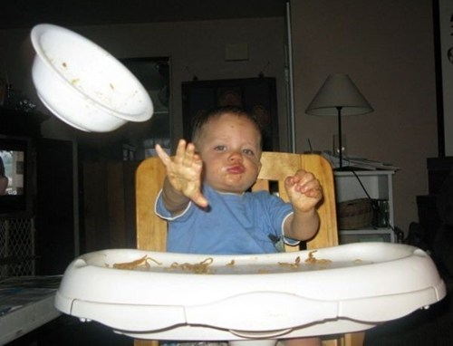 Babies high chairs eating funny - 7519084800