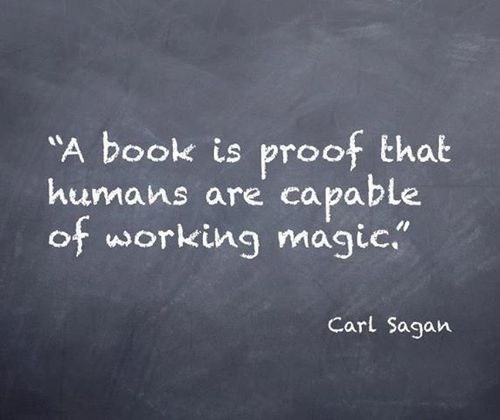 carl sagan awesome books quote funny magic - 7519099904