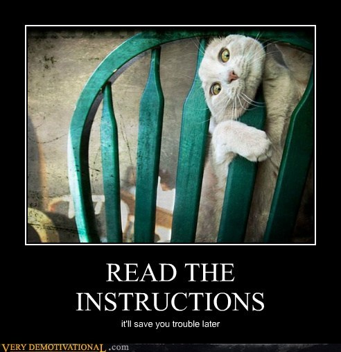 chair cat wtf instructions funny - 7519210240
