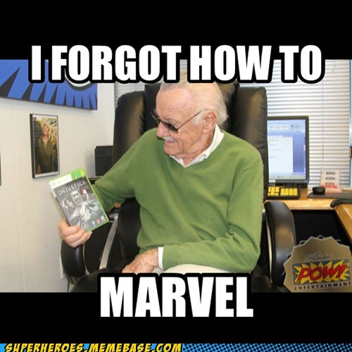 marvel video games stan lee funny - 7519669504