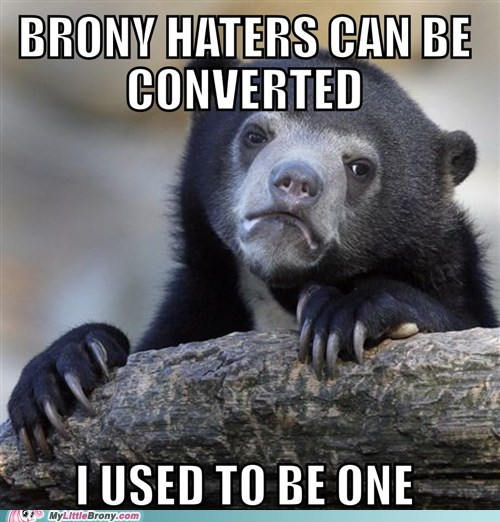 Bronies Memes Confession Bear - 7520356352