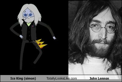 Ice King (simon) Totally Looks Like John Lennon