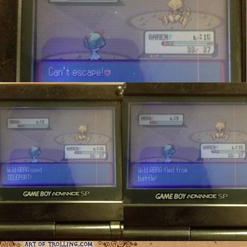 Pokémon abra teleport garen funny - 7521336064