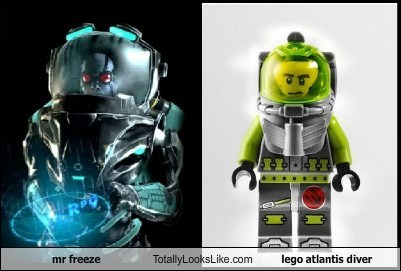 lego,mr freeze,batman