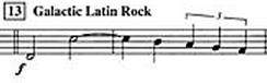 Music sheet music galactic latin rock Star Trek funny g rated - 7521803776
