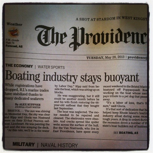 puns newspapers headlines rhode island funny boats - 7521904384