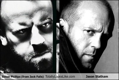 jack falls jason statham Simon Phillips