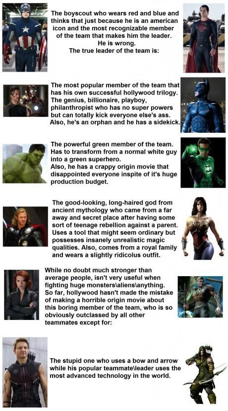 comparison movies justice league funny avengers - 7521961472