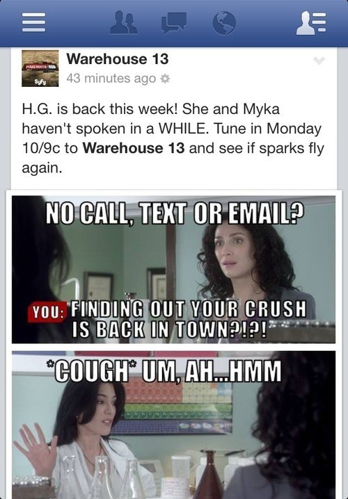 shipping warehouse 13 facebook