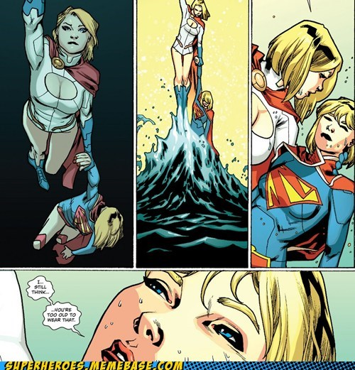 outfit off the page power girl funny supergirl - 7522073856
