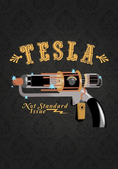 tesla gun,Fan Art,warehouse 13