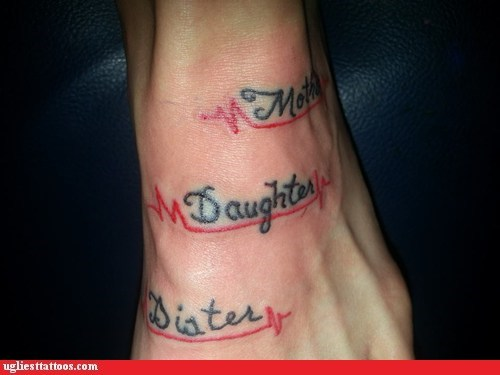 bad tattoos family spelling funny - 7522242304