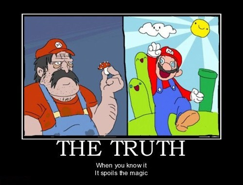 truth,video games,mario bros,funny