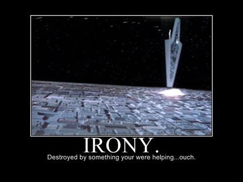 star destroyer star wars irony funny - 7522438912