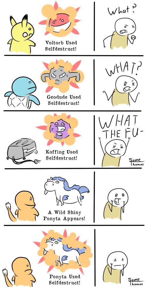 Pokémon shinies comics selfdestruct - 7522446592