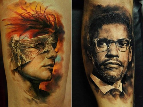 tattoo WIN,portrait,g rated