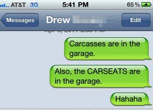 car seats garage funny