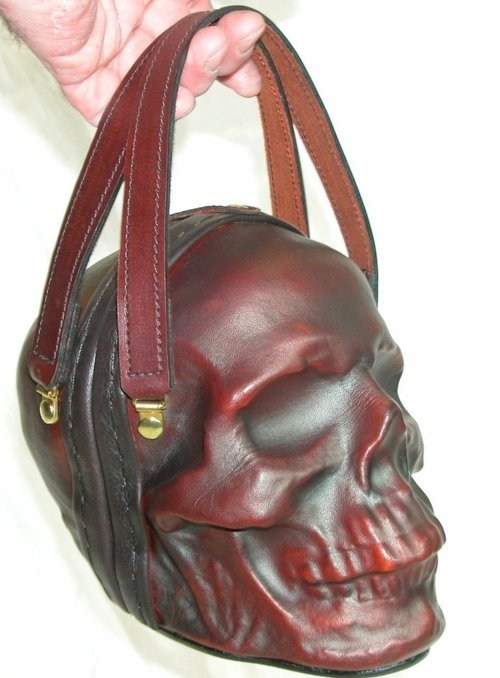 purse Death etsy leather funny - 7522523136