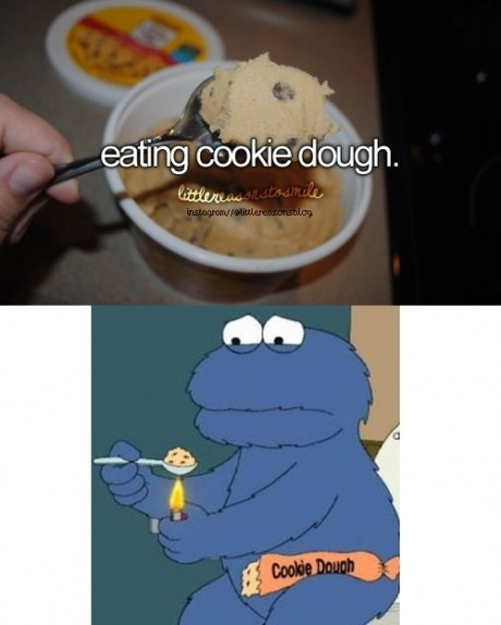 Cookie Monster drug stuff funny - 7522597376