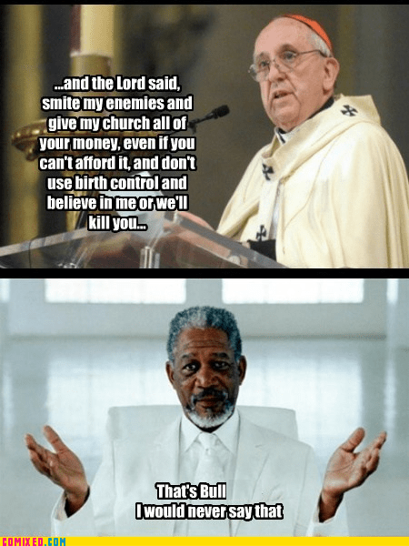 god,religion,jk,Morgan Freeman,funny