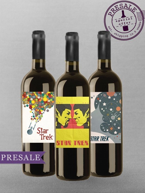 art wine Star Trek funny bottles after 12 g rated - 7523060224