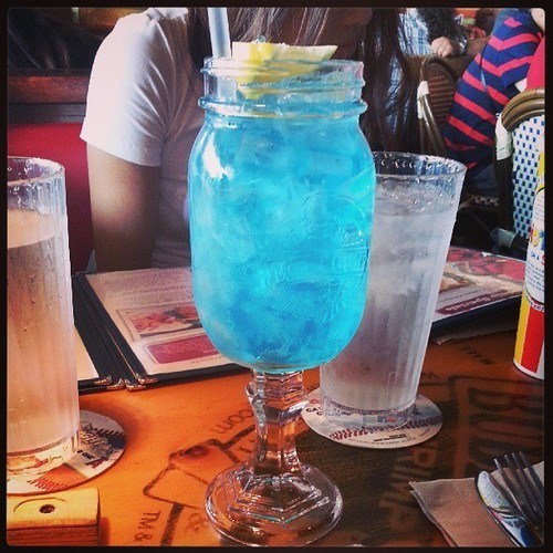 blue,fancy,mason jar,funny