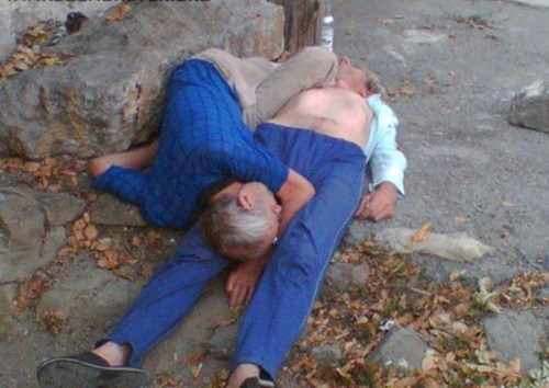 drunk passed out old people funny after 12 - 7523481088