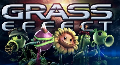 plants vs zombies mass effect EA e3 grass effect popcap