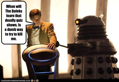quiz shows,daleks,doctor who