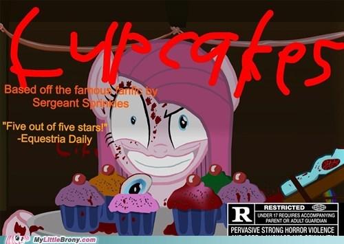 """""""Cupcakes"""" movie poster"""