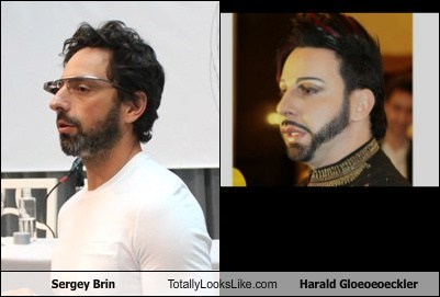 Sergey Brin,totally looks like,harald glookler,funny