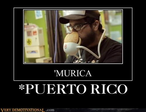 puerto rico,america,burgers,funny