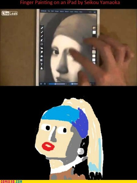 ipads art sad but true painting funny - 7527268352