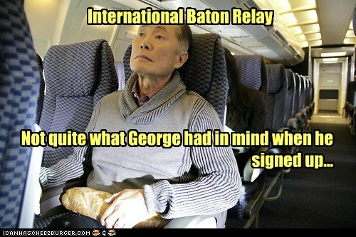 relay race,george takei