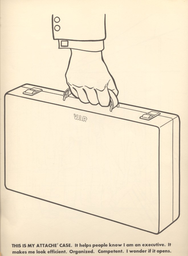 VIP coloring book executives 1960s - 7529989