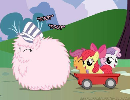 All Aboard The Fluffle Express!