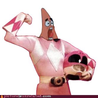 power rangers SpongeBob SquarePants patrick funny - 7530258176