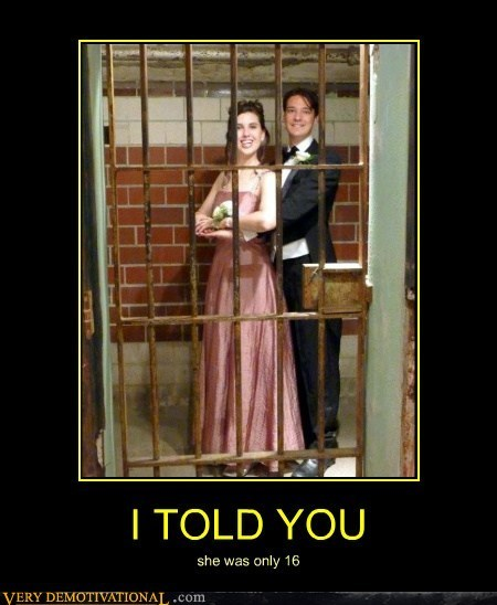 under age jail prom funny