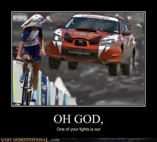 scary car race bike funny - 7531713792