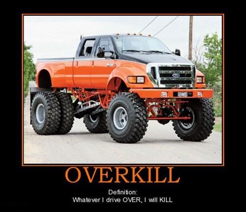 overkill redneck truck funny americana - 7531731712