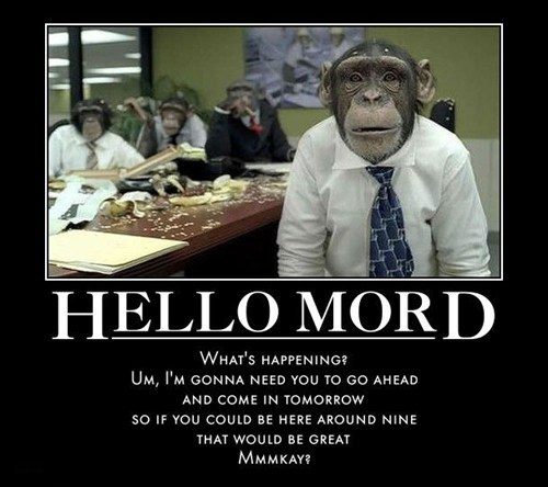 Office Space,monkey,funny