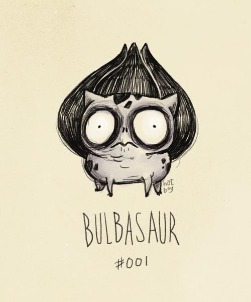 Illustration - hot bey BULBAS AUR #001