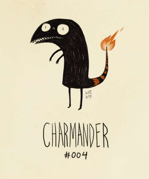 Illustration - hat bay CHARIMANDER #004