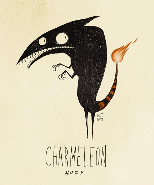 Illustration - hat CHARMELFON #005
